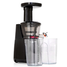 Black Devanti High Yield Cold Press Slow Juicer