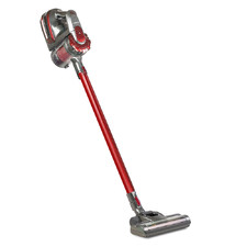 Red & Grey Devanti Cordless Stick Vacuum Cleaner