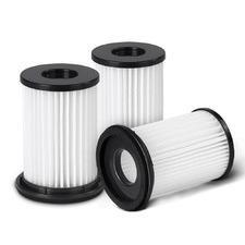 White Devanti Replacement HEPA Filters (Set of 3)