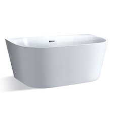White Cefito Bath Tub