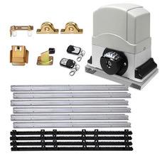 Grey Lock Master Electric Sliding Gate Opener