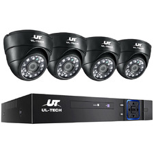 4CH Ul Tech 4 Infrared Camera CCTV Security Camera