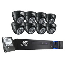 8CH Ul Tech 8 Infrared Camera CCTV Secury System with Hard Drive