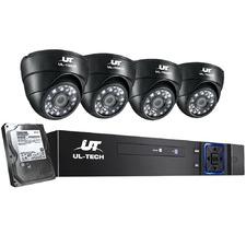 Louis II 4 Channel Ul Tech CCTV Security System