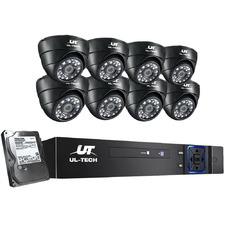 Louis II 8 Channel Ul Tech CCTV Security System