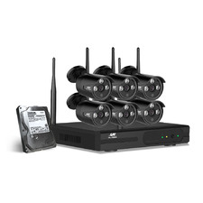 Karl II 8 Channel Ul Tech CCTV Security System