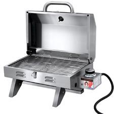 Silver Evan Portable BBQ Grill
