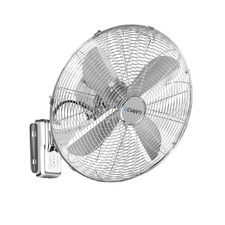 Silver 40cm Devanti Wall Fan