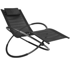 Foldable Orbital Rocking Chair
