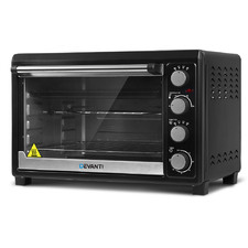 Black Electric Convection 45L Benchtop Oven