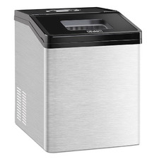 3kg Devanti Stainless Steel Ice Maker