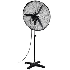 Black Devanti Adjustable Standing Fan