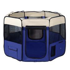 Blue Pet Smart 8 Panel Playpen