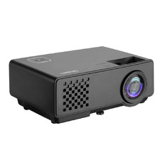 Black Devanti Portable WiFi Projector