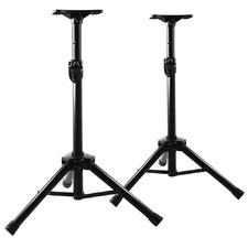 Buckley Adjustable Metal Speaker Stands (Set of 2)