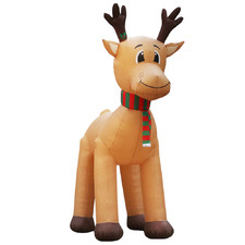 500cm LED Inflatable Giant Reindeer