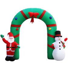 250cm Inflatable Giant Christmas Archway