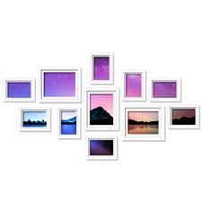 11 Piece Hewitt Gallery Wall Frames Set
