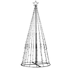 300cm Fairy Christmas Tree with Multi-Colour LED