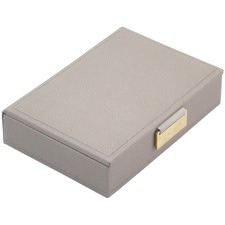Taupe Mini Jewellery Box with Lid