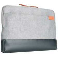 "Uluru 14.1"" Herringbone & Coated Canvas Laptop Sleeve"