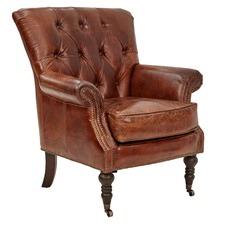 Daphne Leather Armchair
