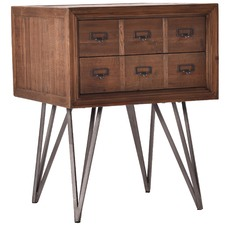Edith Pharmacy Drawer Side Table