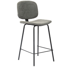 Lucas Faux Leather Barstools (Set of 2)
