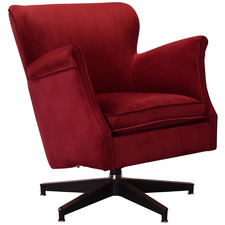 Willow Velvet Armchair