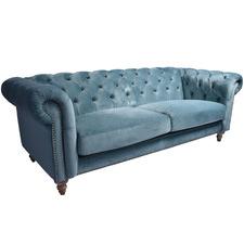 Uptown 3 Seater Velvet Sofa