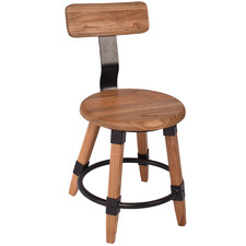 Natural Piper Elm Wood Dining Chair
