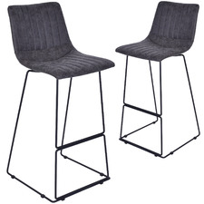 Bragi Upholstered Barstools (Set of 2)