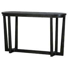 Dark Timber Eaton Reclaimed Wood Console Table
