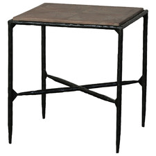 Eierschaal Reclaimed Wood Side Table
