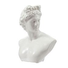 White Blanche Ceramic Bust