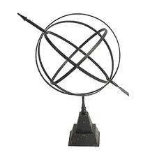 Black Armillary Metal Sphere Ornament