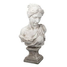 Antique White Grace Bust