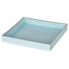 Powder Blue Elouan Square Decorative Tray