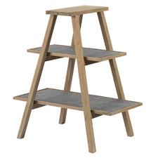 Natural Vienne Fir Wood Ladder Shelf