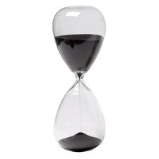 30 Minute Janvier Glass Hourglass