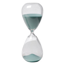 60 Minute Janvier Glass Hourglass