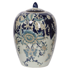 Denisha Porcelain Lidded Jar