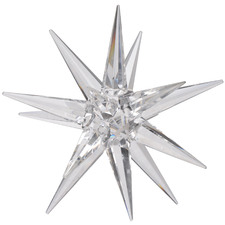 Crystal Star Glass Ornament
