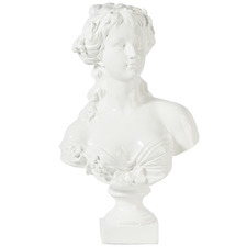 White Lady Bust