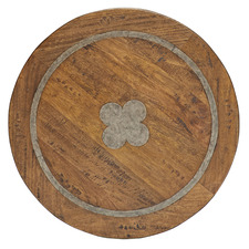 Flair Round Fruitwood Tabletop