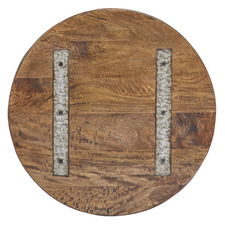 Dean Round Fruitwood Tabletop