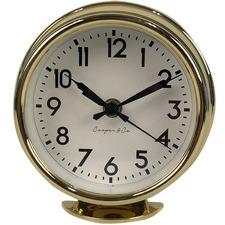 15cm Retro Round Mantel Clock