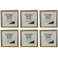 Platinum Metal Photo Frame (Set of 6)