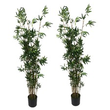 183cm Faux Bamboo Trees (Set of 2)