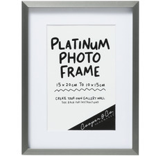 Platinum 16 x 21 Metal Photo Frame (Set of 6)